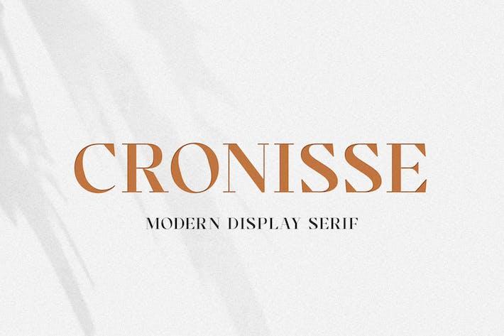 Thumbnail for Cronisse - Pantalla moderna Con serifa