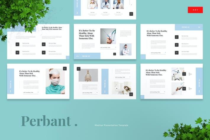 Thumbnail for Perbant - Medical Powerpoint Template
