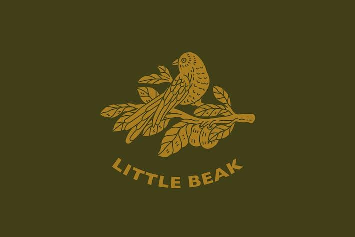 Thumbnail for Minimal Vintage Bird Logo 3