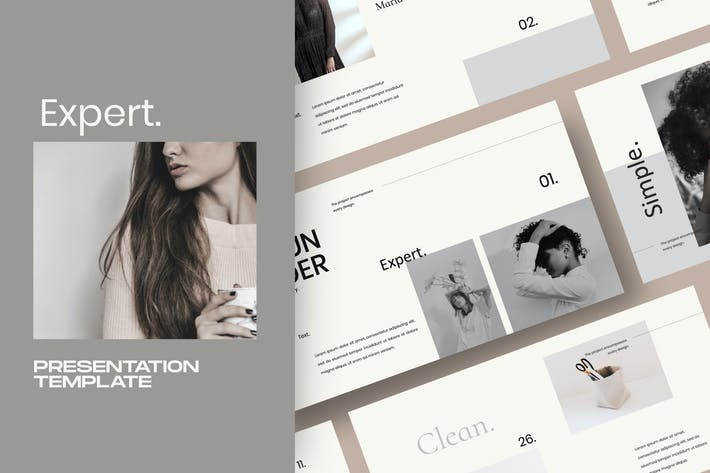 Thumbnail for Expert - Powerpoint Creative minimal agency