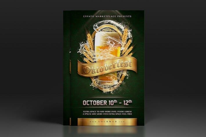 Thumbnail for Oktoberfest Flyer Poster