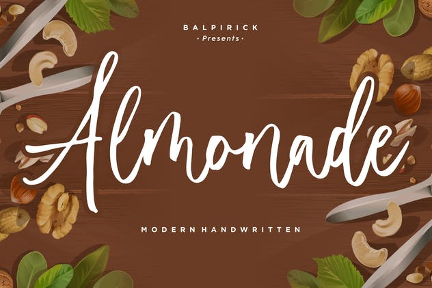 Almonade YH - Handwritten Font - product preview 0