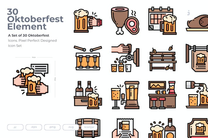 Thumbnail for 30 Oktoberfest Icons
