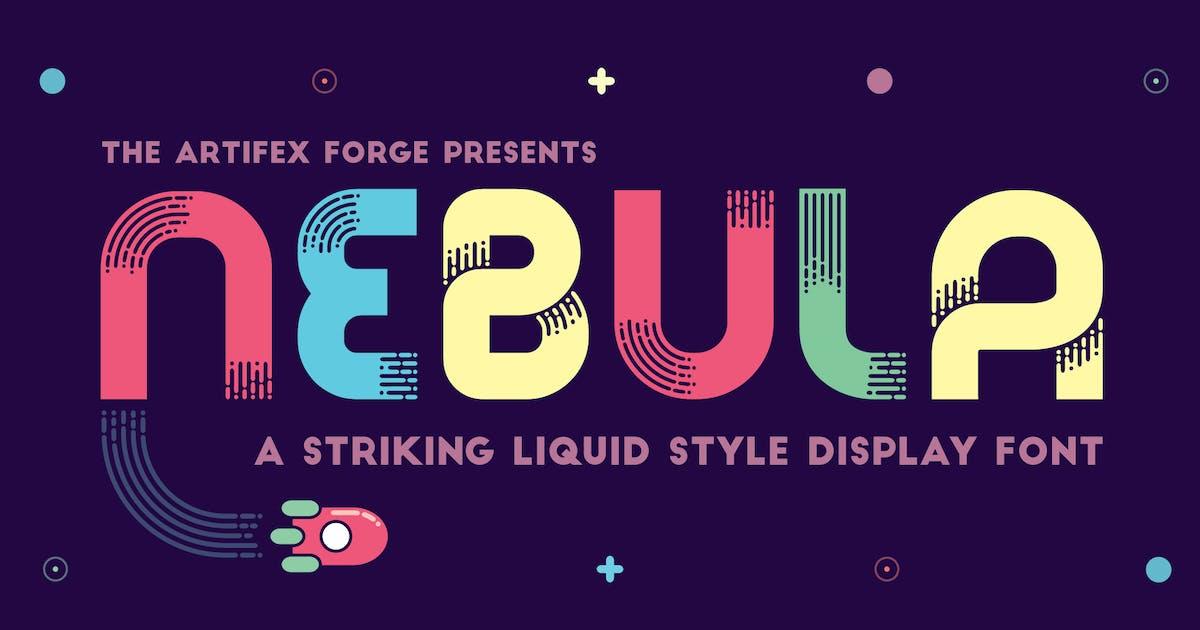 Download Nebula - A Liquid Style Font by JRChild