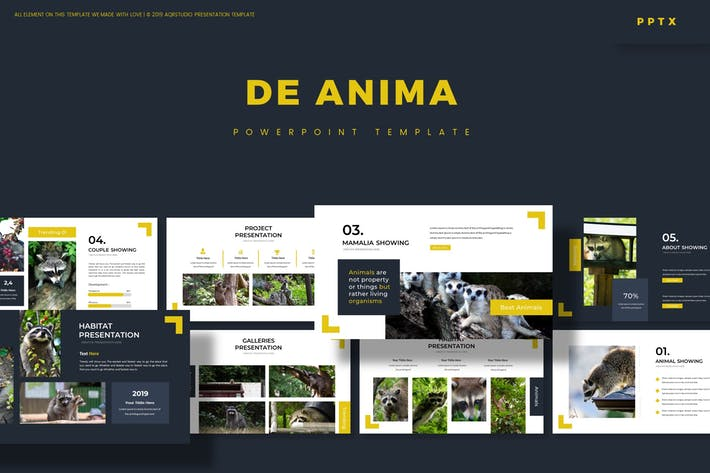 Thumbnail for De Anima - Powerpoint Template