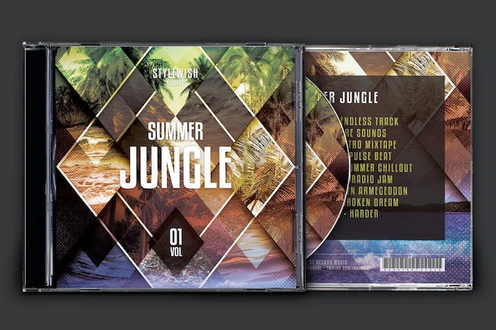 Thumbnail for Summer Jungle CD Cover