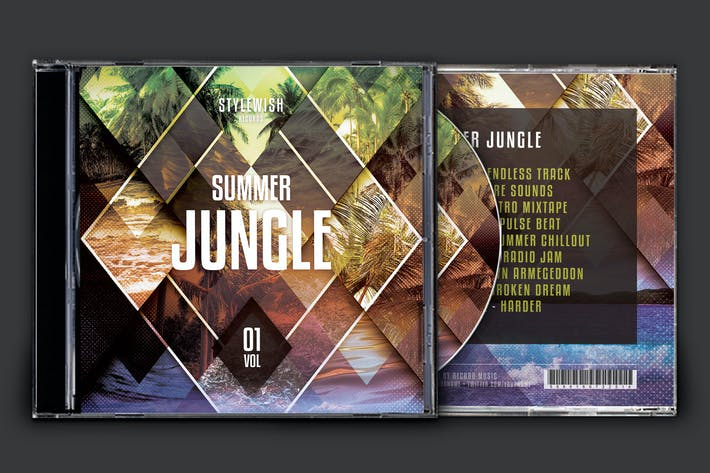Summer Jungle CD Cover