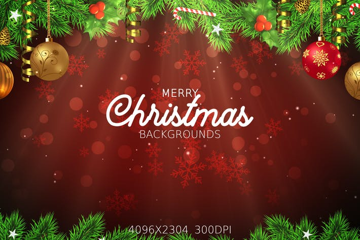 Thumbnail for Merry Christmas Backgrounds