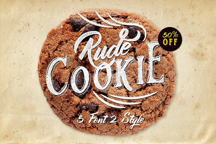 Thumbnail for Capa de fuentes Rude Cookie