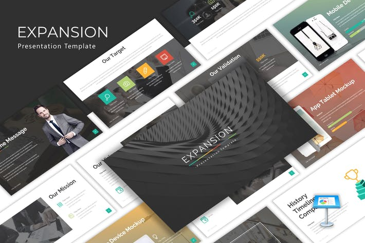 Thumbnail for Expansion - Finance Keynote Template