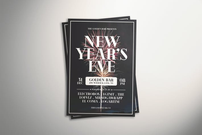 Thumbnail for New Year's Eve Flyer
