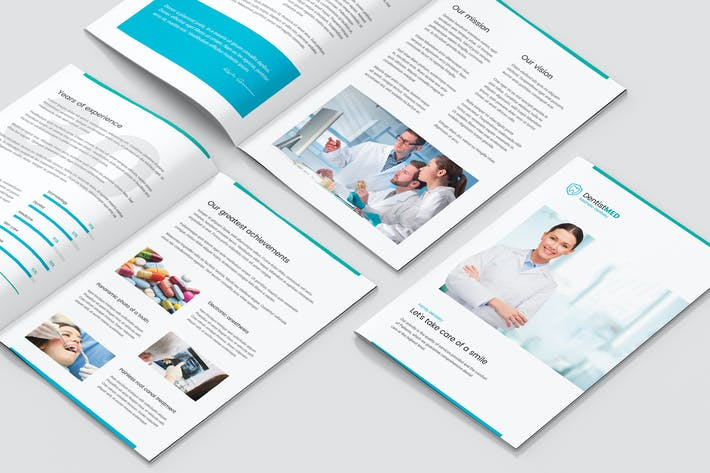 Thumbnail for Mini Brochure – Dentist A5
