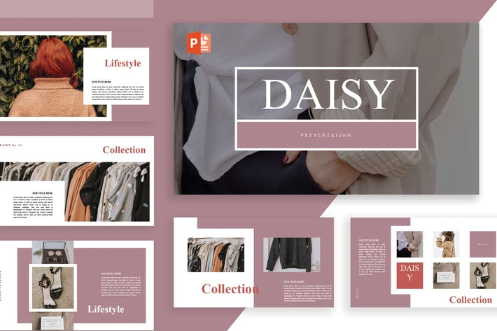 Thumbnail for Daisy powerpoint Template