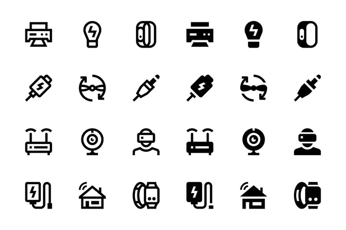 Thumbnail for 96 Device Icons