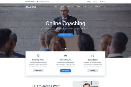 Coaching   Speaker & Life Coach, Health Coach HTML