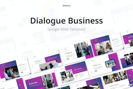 Dialogue Business Google Slides Presentation