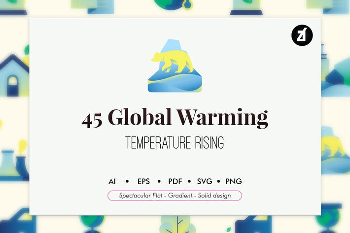 Thumbnail for 45 Global warming elements