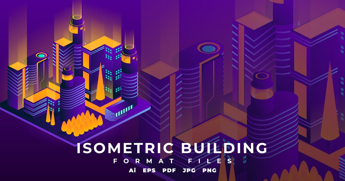 Download Isometric Building by SyndicateStudio
