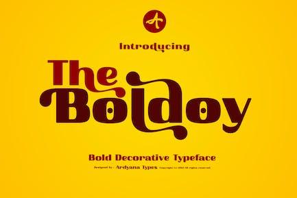 Boldoy - Tipografía decorativa