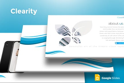 Clearity - Google Slides Template