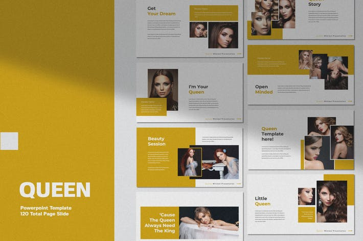 Thumbnail for QUEEN - Business Minimal Template