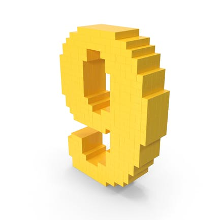 Pixel-Kunst-Nummer 9