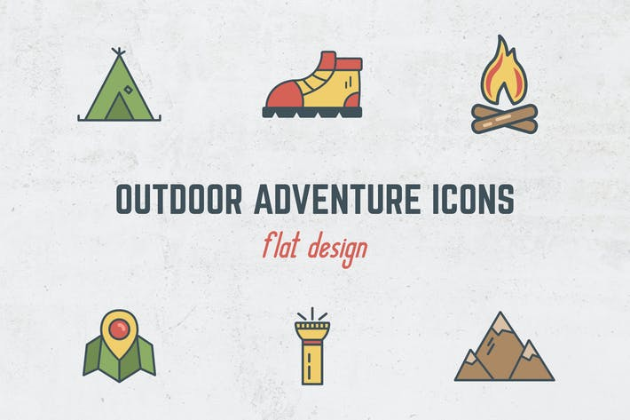 Thumbnail for Outdoor Flat Icons