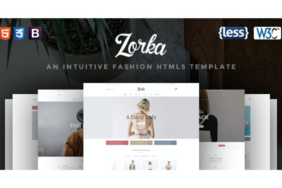 Zorka - Eine intuitive HTML5-Vorlage