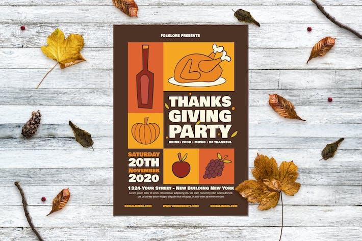 Thanksgiving Turkey Party