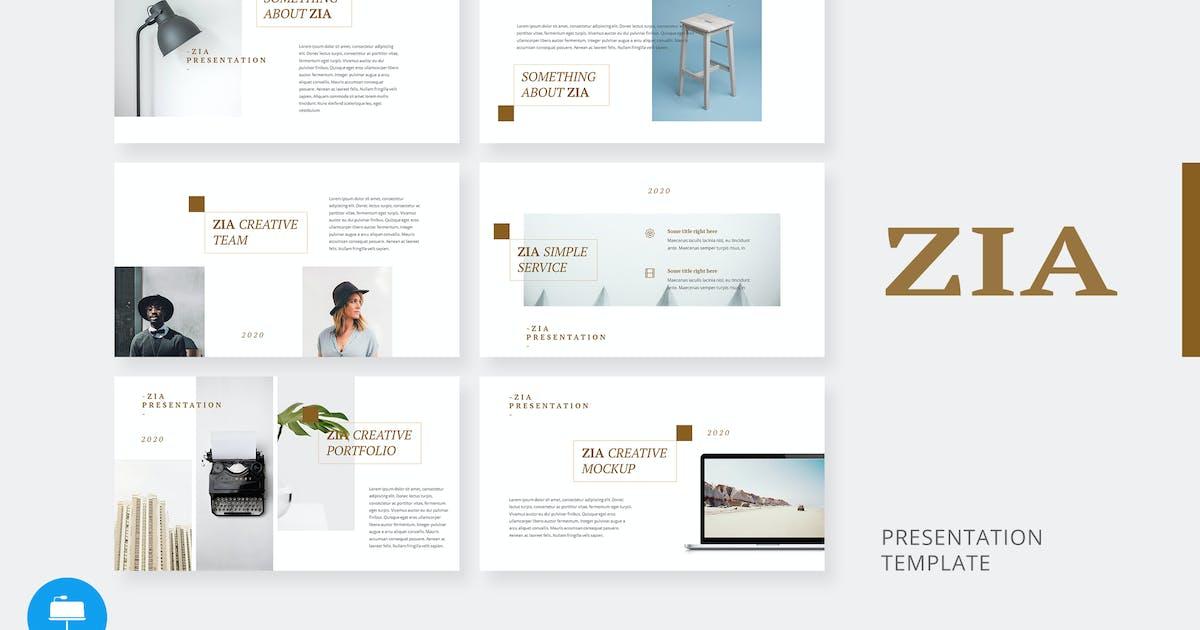 Download Zia - Creative Keynote Template by alexacrib
