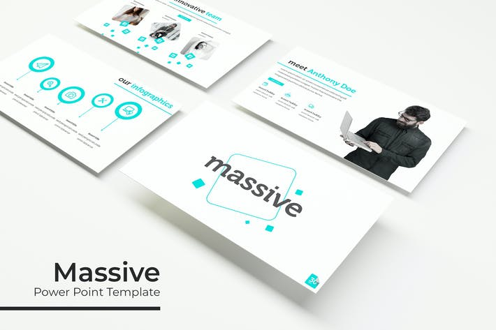 Thumbnail for Massive - Powerpoint Template