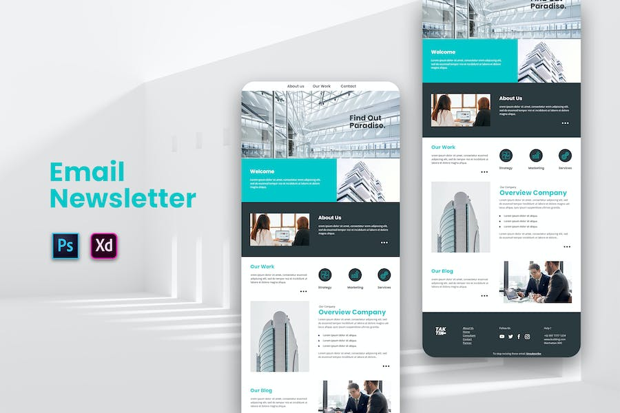 Architecture Email Newsletter