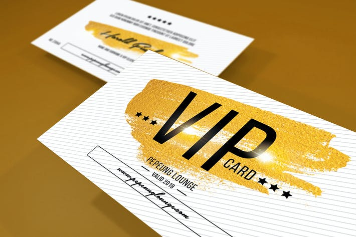 Thumbnail for Multipurpose Casual Vip Card