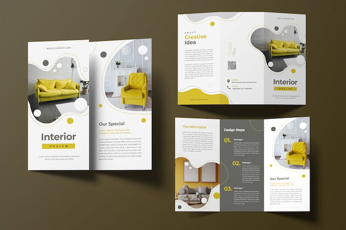 Thumbnail for Interior Trifold Brochure
