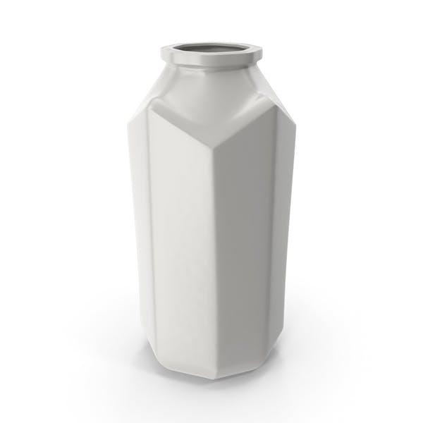 Porcelain Octagon Jar open