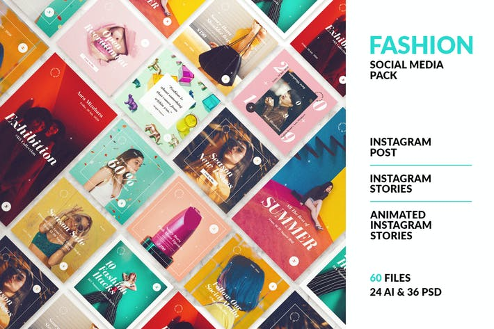 Thumbnail for Animated Instagram Stories Template