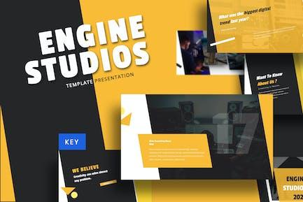 Engine Studio - Music Keynote Template