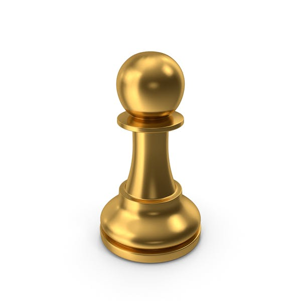Chess Pawn Gold