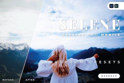 Пресет Selene для настольных и мобильных устройств Lightroom