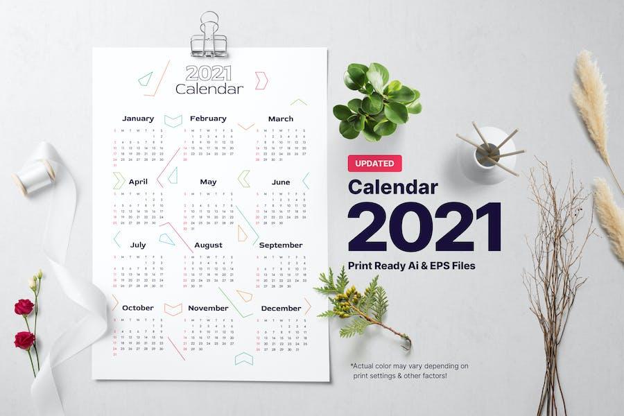 Calendar | Directional | 2021