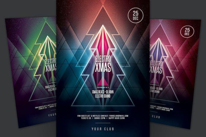 Thumbnail for Electro Xmas Flyer