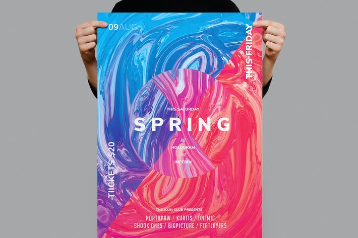 Thumbnail for Spring Flyer / Poster Template