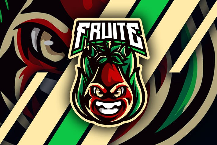 Thumbnail for fruite - Mascotte & Logo Esport