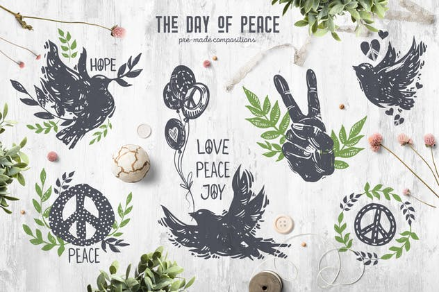 The Day of Peace // Pre-Made Compositions