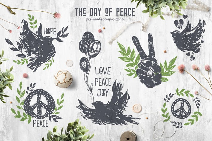 Thumbnail for The Day of Peace // Pre-Made Compositions