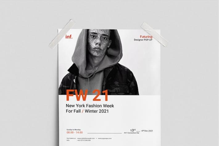 Thumbnail for Affiche de la Semaine de la Mode