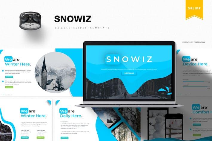 Thumbnail for Snowiz | Google Slides Template