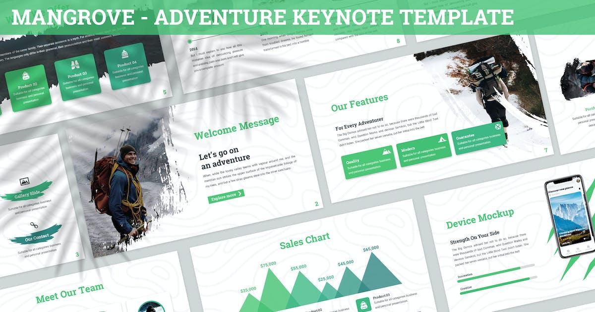 Download Mangrove - Adventure Keynote Template by SlideFactory
