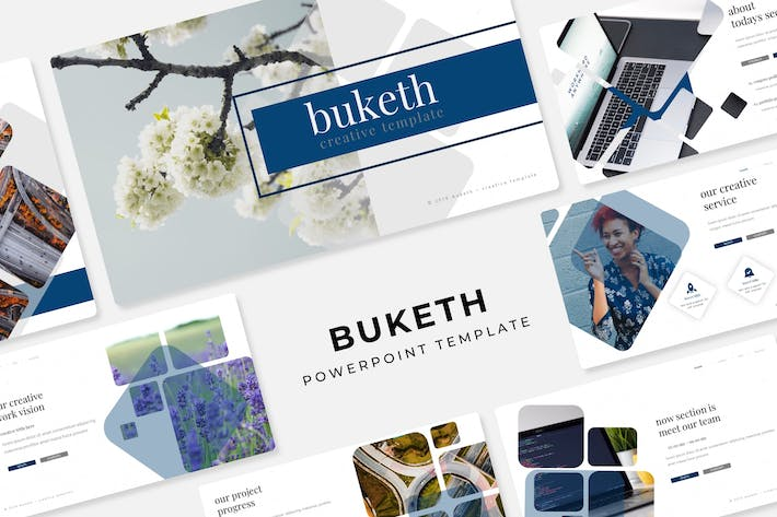 Thumbnail for Buketh - Powerpoint Template