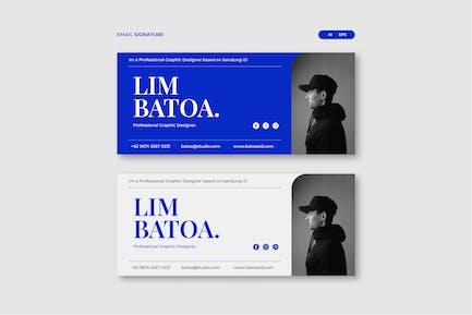 Lim Email Signature
